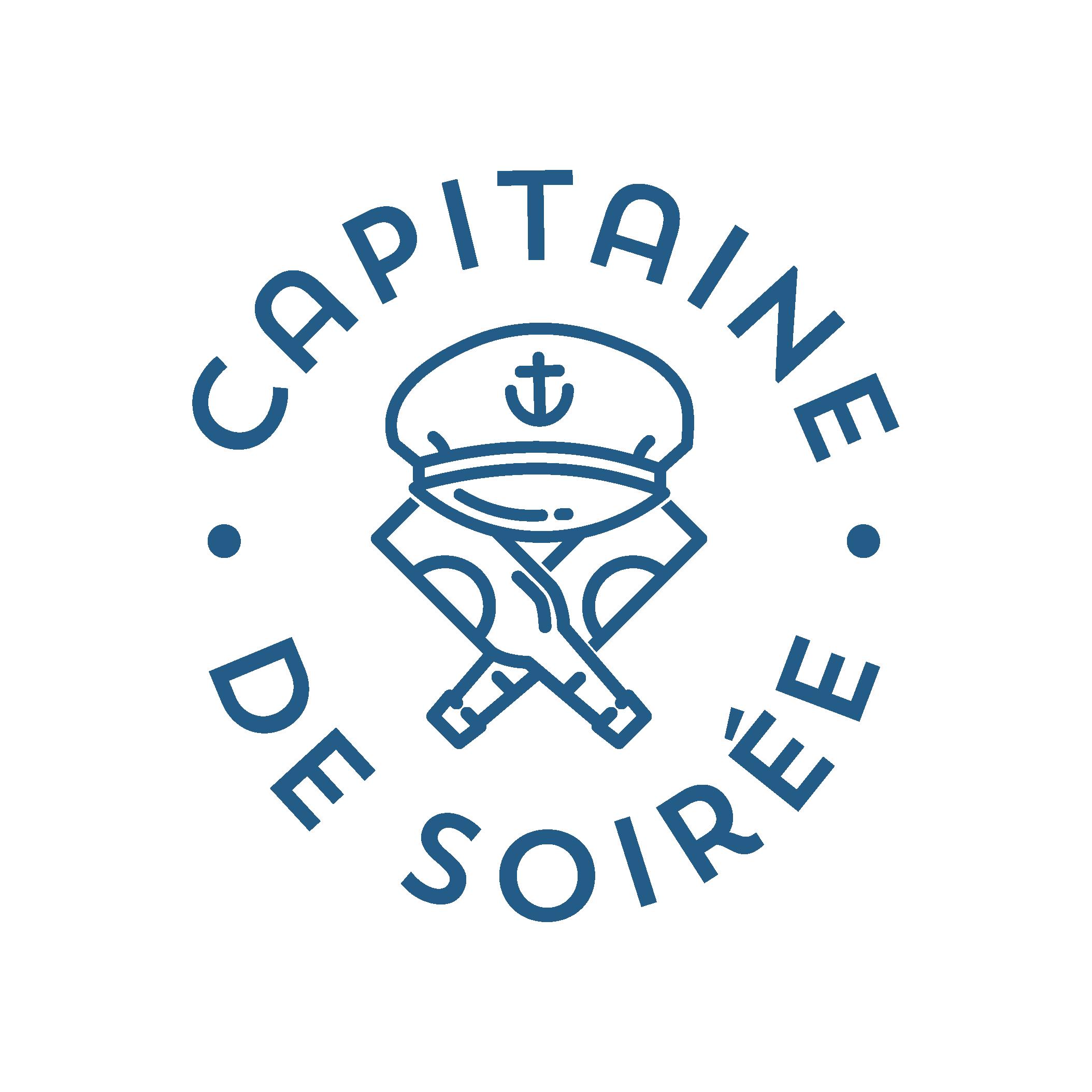 logo capitaine de soirée